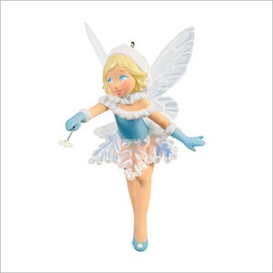2013 Fairy Messengers Winter Fairy *Event Hallmark Keepsake Ornament 2013Event6
