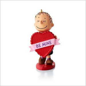 2013 Peanuts Monthly Series 7th Linus's Big Heart Hallmark Keepsake Ornament QX9832