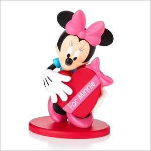 2015 Disney Monthly Series 7th Minnie Sweets for the Sweet Hallmark Keepsake Ornament QHA1028