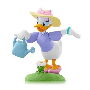 2015 Disney Monthly Series 10th A Drink From Daisy Hallmark Keepsake Ornament QHA1031