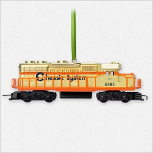 2015 Lionel Trains Complement Chessie System Locomotive *Ltd Qty Hallmark Keepsake Ornament 2015Debut6