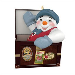 2015 Ramblin Snowman *Event Hallmark Keepsake Ornament QXC5289