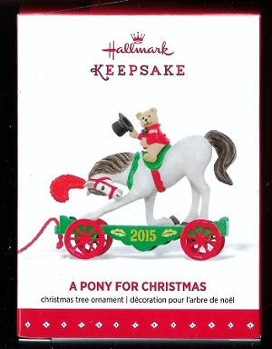 2015 A Pony For Christmas *Event Hallmark Keepsake Ornament 2015ponyevent-2
