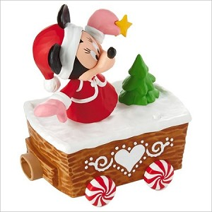 2016 Disney Christmas Express Train Minnie Mouse *Magic Hallmark Keepsake Ornament XKT2133