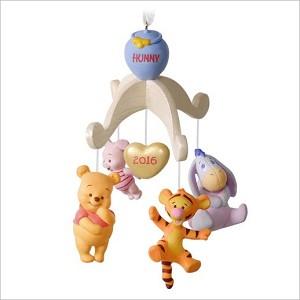 2016 babys first christmas winnie the pooh hallmark keepsake ornament qxd6054
