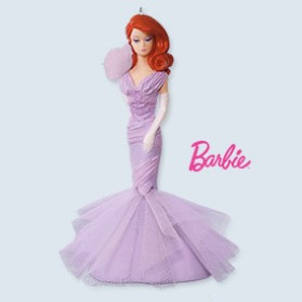 2017 Barbie Lavender Luxe *Club Hallmark Keepsake Ornament 2017ClubLuxeBarbie