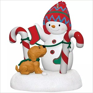 2017 Stockings Hung With Care Snowman *Magic Hallmark Keepsake Ornament QGO1885