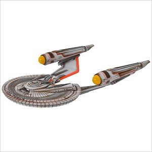 2017 Star Trek U.S.S. Franklin *Magic Hallmark Keepsake Ornament QXI3405