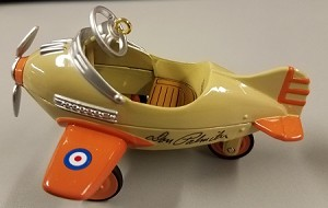 1996 Kiddie Car Classic - Airplane 3rd *Colorway RARE *Signed    Hallmark Keepsake Ornament Color1395QX536-4-2