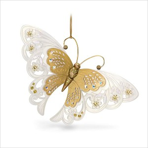 2018 Brilliant Butterflies 2nd Hallmark Keepsake Ornament QX9486