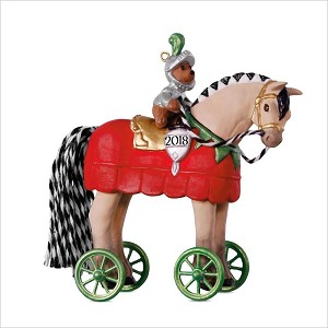 2018 A Pony for Christmas 21st Hallmark Keepsake Ornament QX9503