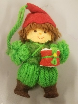 1978 Yarn Drummer Boy  Hallmark Keepsake Ornament 200QX123-1