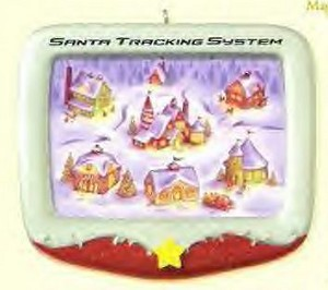 2007 Santa Tracking System *Magic Hallmark Keepsake Ornament QHF3097