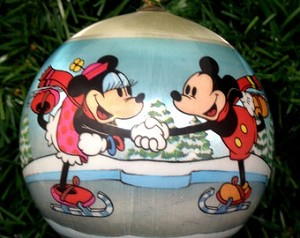 1980 Disney Mickey Mouse-Ball  (NB) Hallmark Keepsake Ornament 400QX218-1