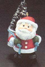 1985 Thimble-8th Santa 8th (MIB) Hallmark Keepsake Ornament 550QX472-5