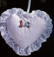 1993 Baby's Christening Hallmark Keepsake Ornament BBY2917