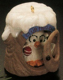 1990 Club Hollow Keepsake *Club Hallmark Keepsake Ornament QXC4456