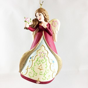 2013 Angels Around the World 3rd England  Event REPAINT Hallmark Keepsake Ornament QX9055