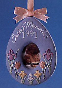 1991 Easter Memories Photo Holder Spring/Easter Hallmark Ornament at Ornament Mall