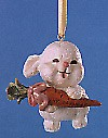 1991 Daughter Bunny with Carrot Spring/Easter Hallmark Ornament at Ornament Mall