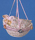 1991 Baby's First Easter Bunny in Basket Spring/Easter Hallmark Ornament at Ornament Mall