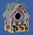 1994 Treetop Cottage Spring/Easter Hallmark Ornament at Ornament Mall