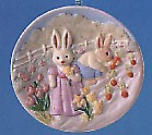1994 Collector's Plate 1st Gathering Sunny Memories Spring/Easter Hallmark Ornament at Ornament Mall