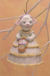 1993 Lovely Lamb  Spring/Easter Hallmark Ornament at Ornament Mall