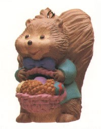 1993 Nutty Eggs Spring/Easter Hallmark Ornament at Ornament Mall
