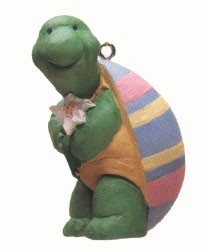 1993 Best Dressed Turtle Spring/Easter Hallmark Ornament at Ornament Mall