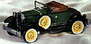 1998 Vintage Roadsters 1st 1931 Ford Model A Roadsters Spring/Easter Hallmark Ornament at Ornament Mall