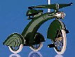 1997 Sidewalk Cruisers 1st 1935 Steelcraft Streamline Velocipede  Spring/Easter Hallmark Ornament at Ornament Mall