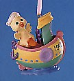 1997 Here Comes Easter 4th Boat Spring/Easter Hallmark Ornament at Ornament Mall
