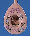 1992 Warm Memories Photo Holder Spring/Easter Hallmark Ornament at Ornament Mall