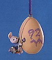 1992 Eggspert Painter Spring/Easter Hallmark Ornament at Ornament Mall