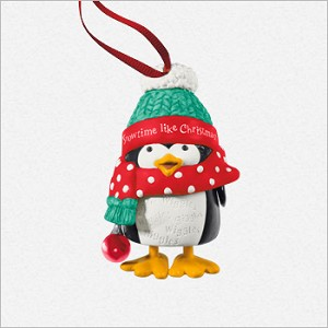 2013 Wiggly-Giggly Penguin *Club Hallmark Keepsake Ornament 2013Club1