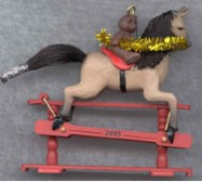 2005 A Pony for Christmas 8th Colorway Hallmark Keepsake Ornament QX2265C