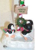2003 Pals at the Pole Penguins Colorway Hallmark Keepsake Ornament QXG8827C