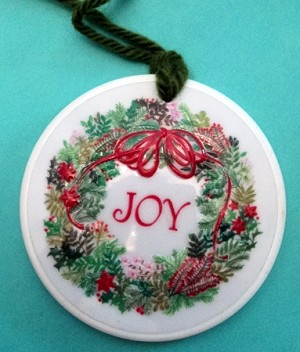 1974 JOY Wreath Trimmer... Very Rare Hallmark Keepsake Ornament 1974trim