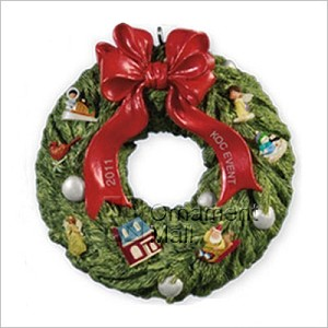 2011 Wreath of Memories *KOC Event Exclusive Hallmark Keepsake Ornament 2011EventWreath