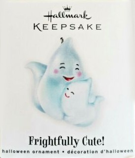 2010 Frightfully Cute *Miniature Hallmark Keepsake Ornament QFO4626