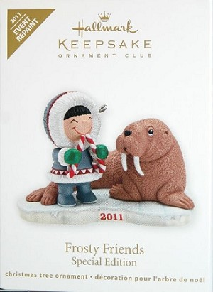2011 Frosty Friends KOC Event *Colorway/Repaint Hallmark Keepsake Ornament Hallmark Event Prize