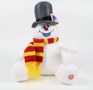 2010 Frosty the Snowman Plush *New With Tag Hallmark Keepsake Ornament LPR2324