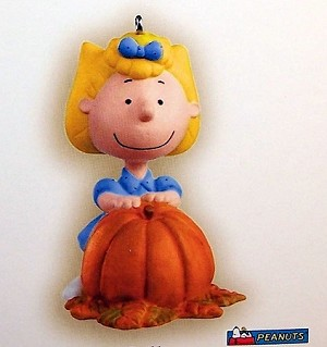 2006 Halloween It's the Great Pumpkin.. Sally Hallmark Keepsake Ornament QFO6056