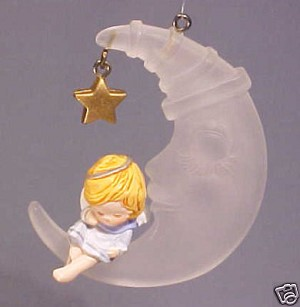 1980 Heavenly Nap  (NB) Hallmark Keepsake Ornament 650QX139-4-2-2