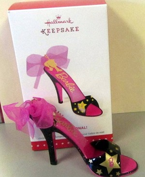 2015 Barbie Shoe-sational *Event Exclusive Barbie Convention *Signed Hallmark Keepsake Ornament QMP4096