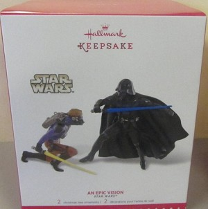 2015 Star Wars An Epic Vision *Star Wars Celebration Event Hallmark Keepsake Ornament QMP4091
