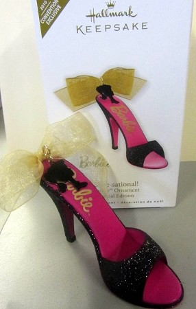 2010 Barbie Shoe-sational *Event Exclusive Barbie Convention *Signed Hallmark Keepsake Ornament 2010club6