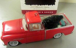 1996 All-American Truck #2 *Colorway RARE Hallmark Keepsake Ornament COLORWAY1395QX524-1
