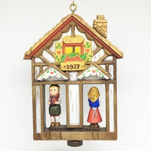 1977 Twirl About Weather House (NB) Hallmark Keepsake Ornament 600QX191-2